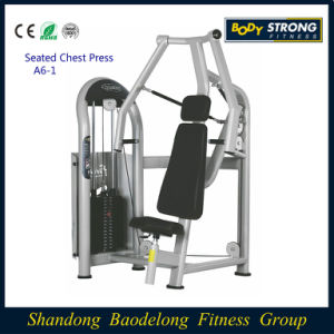 Seated Chest Press Fitness Commercial Equipment A6-001 pictures & photos