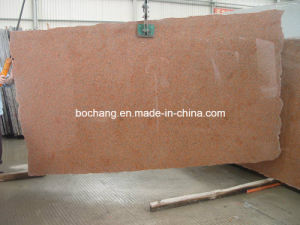 Polished Tianshan Red Granite Slab for Countertop pictures & photos