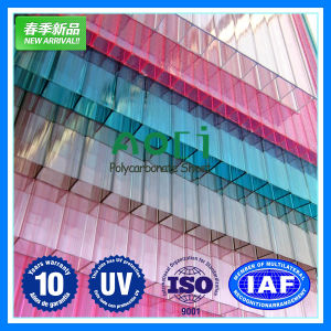 Ten Years Warranty Polycarbonate Panels Roofing Sheet pictures & photos