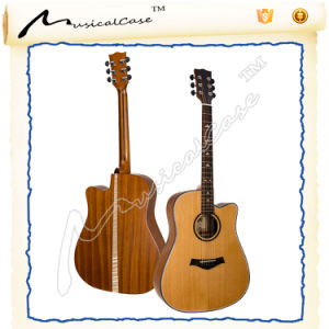 """41"""" Inch Full Size Handcrafted 6 String Acoustic Guitar pictures & photos"""