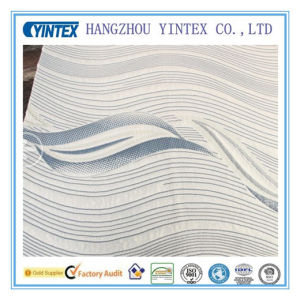 Wholesale Decoration Wave Pattern Polyester Fabric pictures & photos