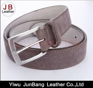 Men′s Genuine Leather Suede Belt pictures & photos