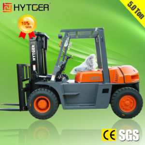Diesel Engine Automatic Forklift 5.0 Ton pictures & photos