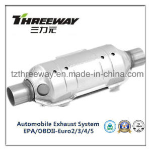 Car Exhaust System Three-Way Catalytic Converter #Twcat018 pictures & photos