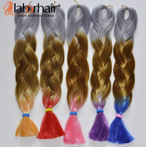 100% Hai Braid Kanekalon Jumbo Braid Synthetic Hair Extension Lbh 058 pictures & photos