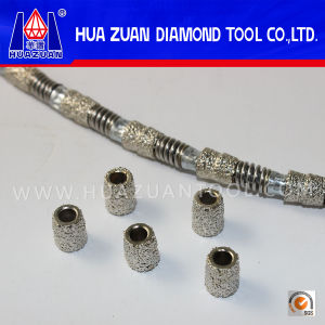 High Quality Vacuum Brazed Diamond Wire for Marble Concrete pictures & photos