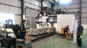 Shanghai CNC Lathe Tools Bx32 High Quality Portable Line Boring Machine 100mm Dia Vertical Boring Machine with Ce Certification pictures & photos