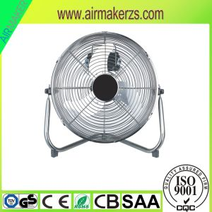 18 Inch High Velocity Chrome Metal Floor Fan/Industrial Fan/Electrial Fan pictures & photos