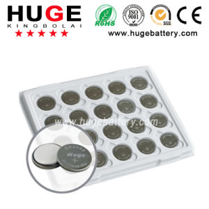 3.0V mAh Super High Quality Lithium Button Cell CR2032 Battery pictures & photos