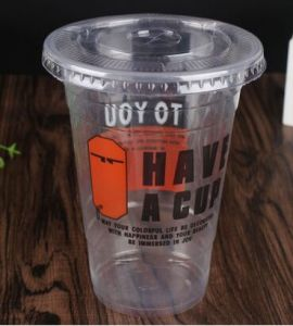 Customized Disposable Sauce/Juice/Yogurt/Coffee Plastic Cup pictures & photos