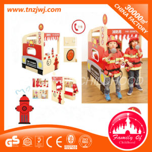 Pole Play Children Wooden Playhouse for Sale pictures & photos
