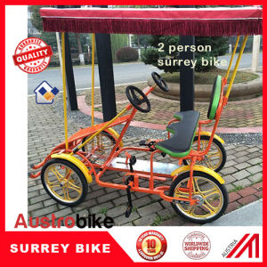 2 Person Surrey Bike 2 Person Bicycle pictures & photos