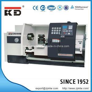 Kaida High Quality Big Bore Horizontal CNC Lathe Ck61100b/2000 pictures & photos