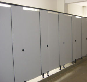 Extensive Style Phenolic Resin Solid Colour Cubicle pictures & photos