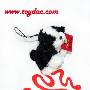Stuffed Nice Fur Dog Key Ring pictures & photos