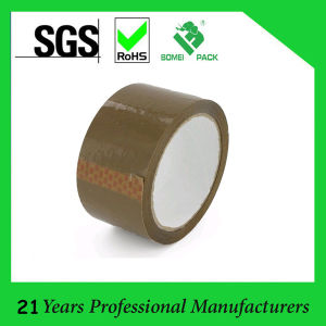 BOPP Dark Brown Tan Color Packing Tape (KD-0631) pictures & photos