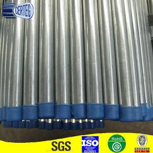Galvanized steel pipe with plastic cap pictures & photos