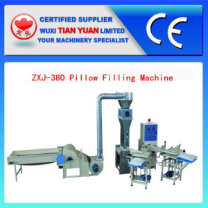 Zxj-380 Automatic Pillow Filling Machine and Kbj-2 Bale Opener pictures & photos