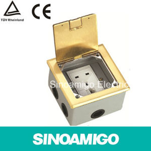Open Type Power Receptacle Floor Box pictures & photos