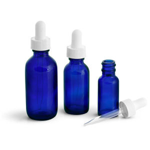 Competitive Price 30ml 1oz Blue Essential Oil Glass Bottles pictures & photos