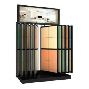 Quartz Tile Leaf Rack Exhibition Display Stand Rack pictures & photos