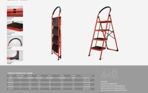 Household Steel Ladder pictures & photos