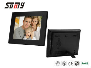 Multifuctional 8 Inch Digital Photo Frame with High Resolution