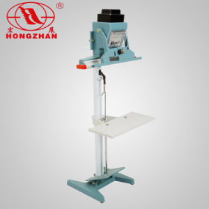 Film Sealing Machine Pedal Sealer Plastic and Laminating Bag Manual Double Sides Heat Seal Equipment for Food and Snacks pictures & photos