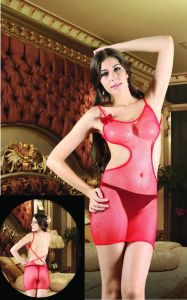 Fishnet Sexy Babydoll with Backless Design pictures & photos