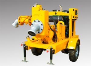 Movable Diesel Engine Dry Self Priming Water Pump pictures & photos