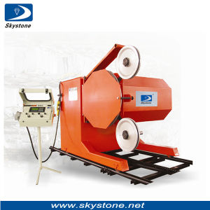 SGS Diamond Wire Saw Machine for Concrete Cutting/Block Cutting--Tsy-37g pictures & photos