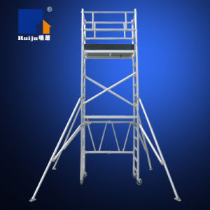 Aluminum Folded Scaffold 3.5m pictures & photos