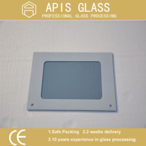 3-12mm Silk Screen Printing Tempered Glass/Colored Glass/Ceramic Frit Painted Glass with Black Frame pictures & photos