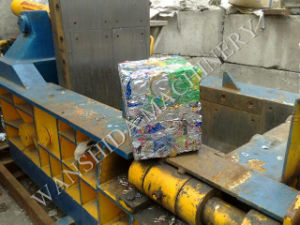 China Waste Aluminum Cans Baler for Sale pictures & photos