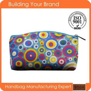2017 New Design Canvas Cotton Fashion Wholesale Cosmetic Bag pictures & photos