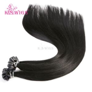 V-Tips Extension Chinese Virgin Remy Keratin Hair pictures & photos