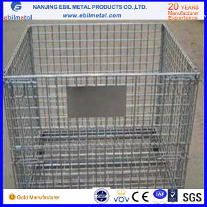 High Quality Customizable Foldable Wire Mesh Container pictures & photos