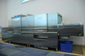 Eco-L950 Large Washing Capacity Dish Washer with Dryer, Slagging Machine pictures & photos