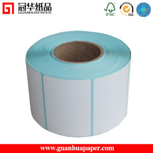 SGS Best Price Customized Size Thermal Sticker Label Roll pictures & photos