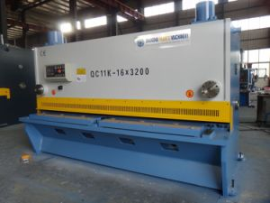 QC11y Hydraulic CNC Guillotine Steel Machine pictures & photos