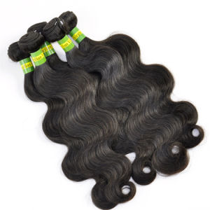 "Brazilian Virgin Hair Extensions Body Wave 20"" pictures & photos"