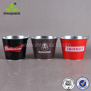 5 Quart Round Beer Cooler Metal Tin Ice Bucket pictures & photos