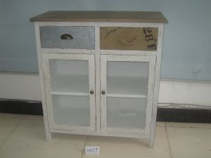 2 Drawer and 2 Door Modern Style Cabinet (FCJ04179)
