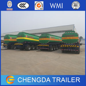 Chengda Truck Trailer Feul Tanker Gas Oil Tank Trailer pictures & photos