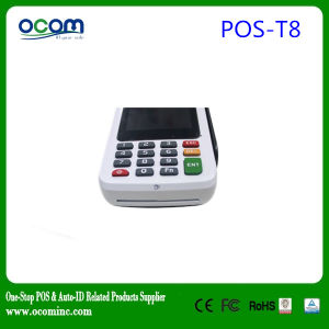POS-T8 New 3G POS Terminal with SIM Card pictures & photos