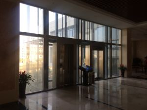 Vvvf Gearless Machine Room Observation Passenger Elevator by Huzhou Manufacturer Factory Mr pictures & photos