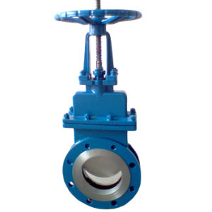Wafer Stainless Steel Knife Gate Valve (GAPZ73F) pictures & photos