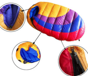 Outdoors White Duck Down Sleeping Bag for Children +500g   Duck Down pictures & photos