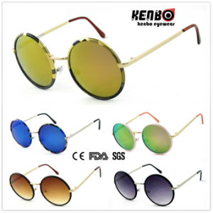 Latest! Hot Sale! Fashion Metal Sunglasses for Accessory CE, FDA, 100% UV Protection Km15117 pictures & photos