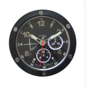 Metal Wrist Watch Shape Quartz Clock Stainless Steel Wall Watch Clock